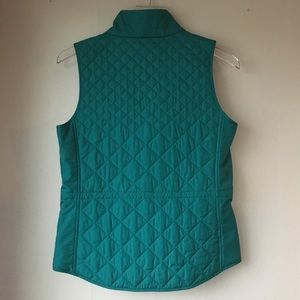 Lafayette 148 New York Jackets & Coats - LAFAYETTE 148 NEW YORK Teal Quilted Vest Sz P